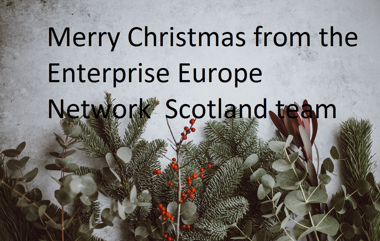 merry christmas from the enterprise europe network scotland picture